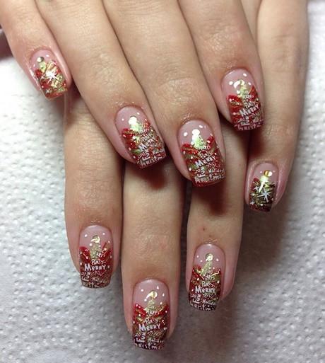 Nageldesign Weihnachten Muster  Schöne nägel für weihnachten