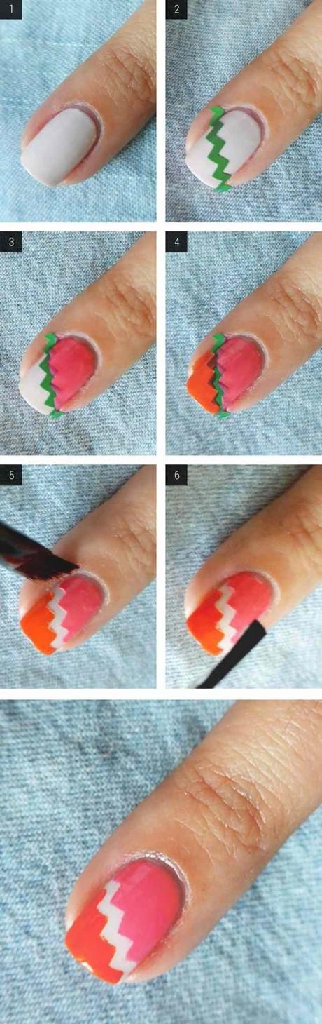 Nageldesign Zum Selber Machen Mit Nagellack  Nageldesign zum selber machen mit nagellack leicht