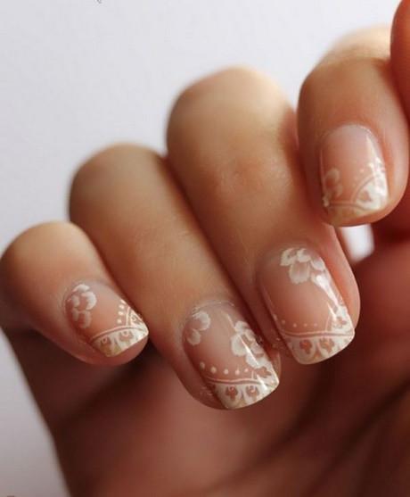 Natürliche Maniküre  Natürliche fingernägel hochzeit