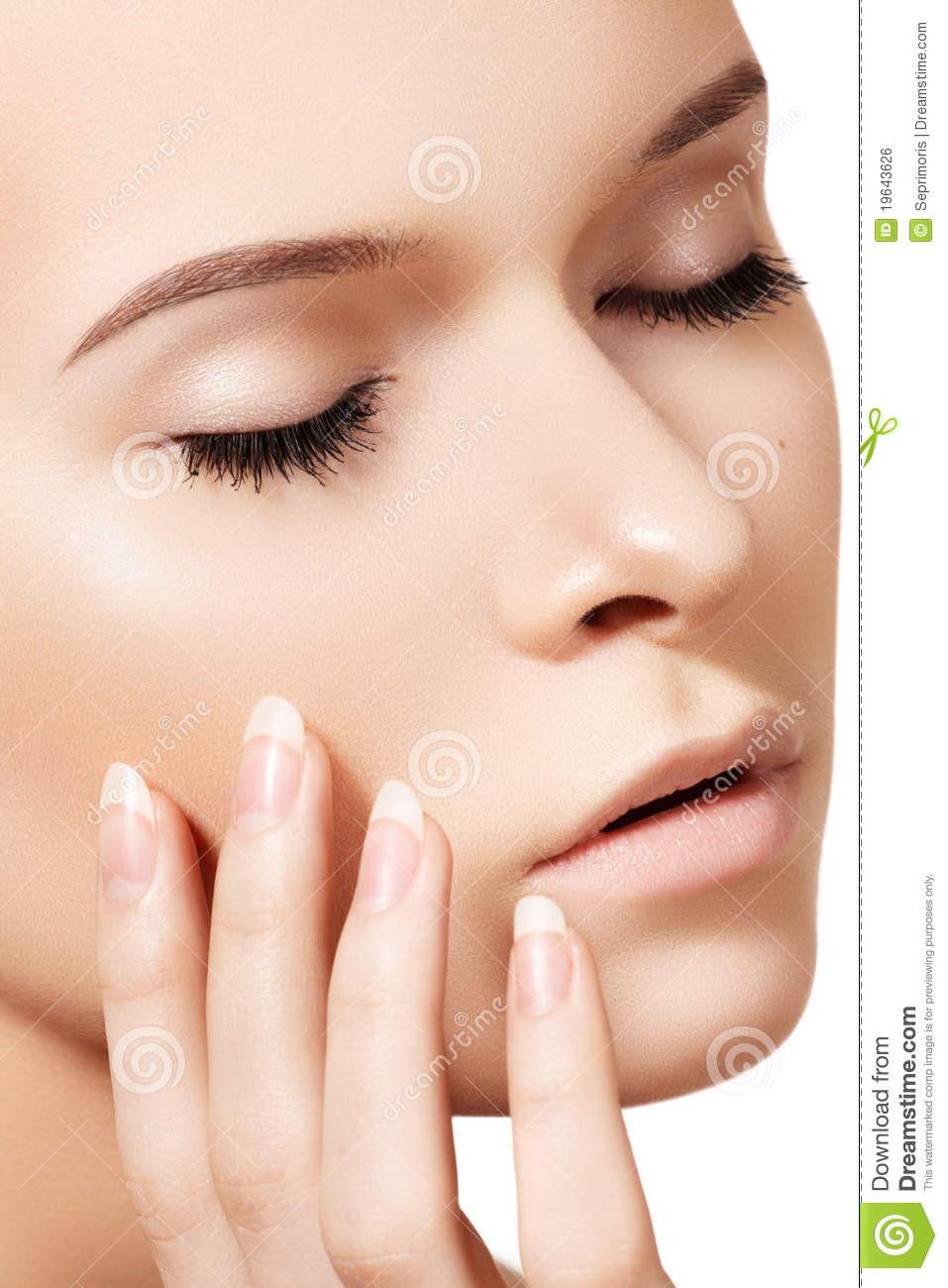 Natürliche Maniküre  Natürliche Skincare Schönheit Saubere Weiche Haut