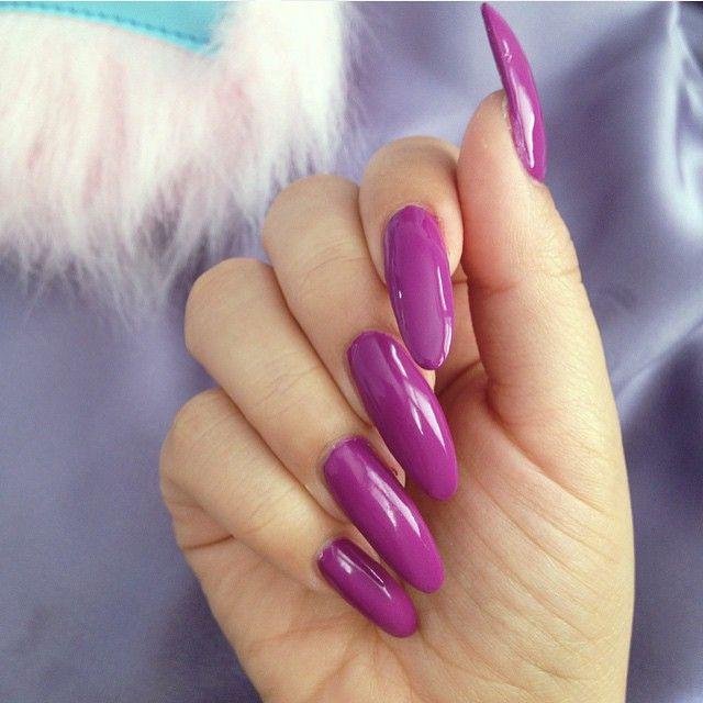 Natürliche Maniküre  139 besten Long beautiful nails Bilder auf Pinterest