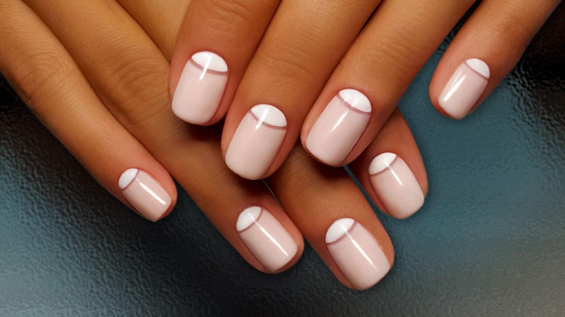 Natürliche Nageldesigns  Nägel lackieren einige Tipps für Nageldesigns
