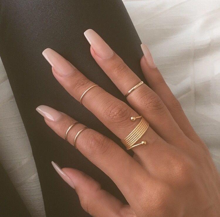 Natürliche Nageldesigns  angelzenae Nägel und Schminke Pinterest