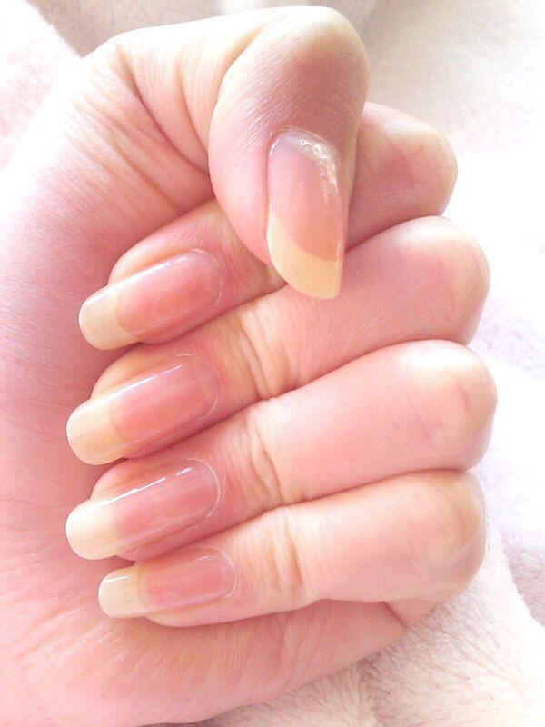 Natürliche Nageldesigns  Medium round Nails I wish I had