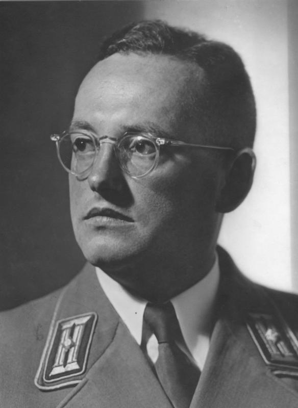 Nazi Haarschnitt  Walter Gross politician