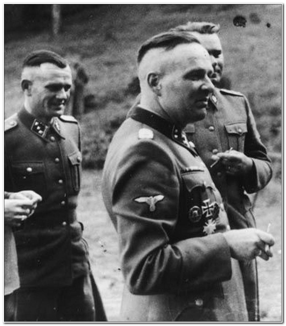 Nazi Haarschnitt  Nazi Frisur Scheitel