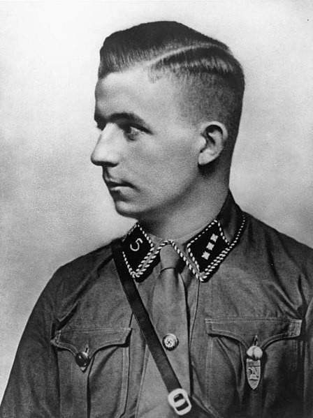 Nazi Haarschnitt  File Bundesarchiv Bild 146 1978 043 14 Horst Wessel