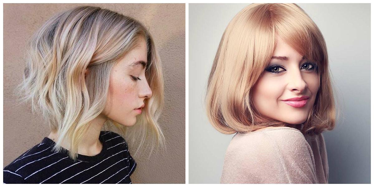 Neue Frisuren Damen 2019  Kurze Frisuren für Damen 2019 Die heißesten Neuheiten des