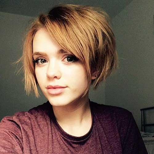 Neueste Frisuren  20 neueste kurze frisuren fur runde gesichtsform