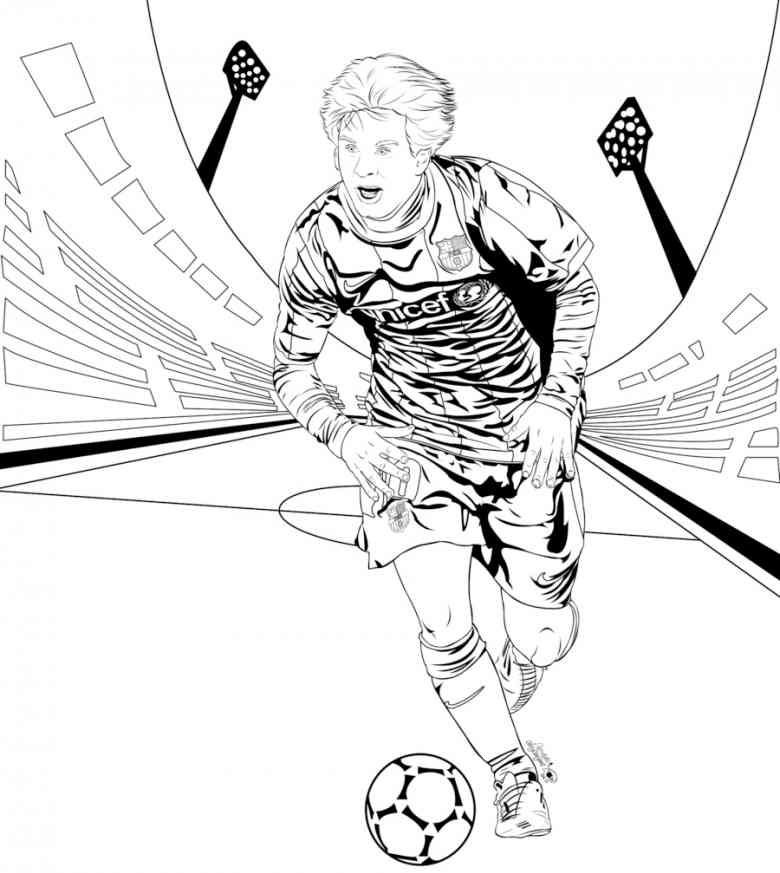 Neymar Ausmalbilder  ausmalbilder fußball stars 1162 Malvorlage Fußball