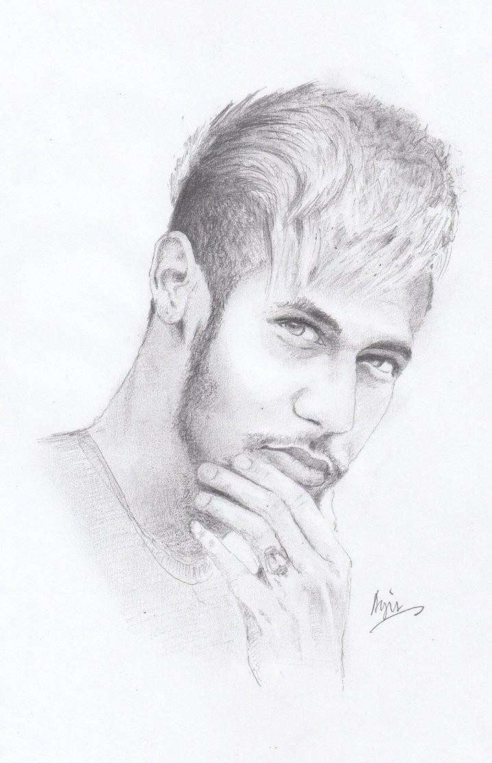 Neymar Ausmalbilder  Neymar by Agit0708 on DeviantArt