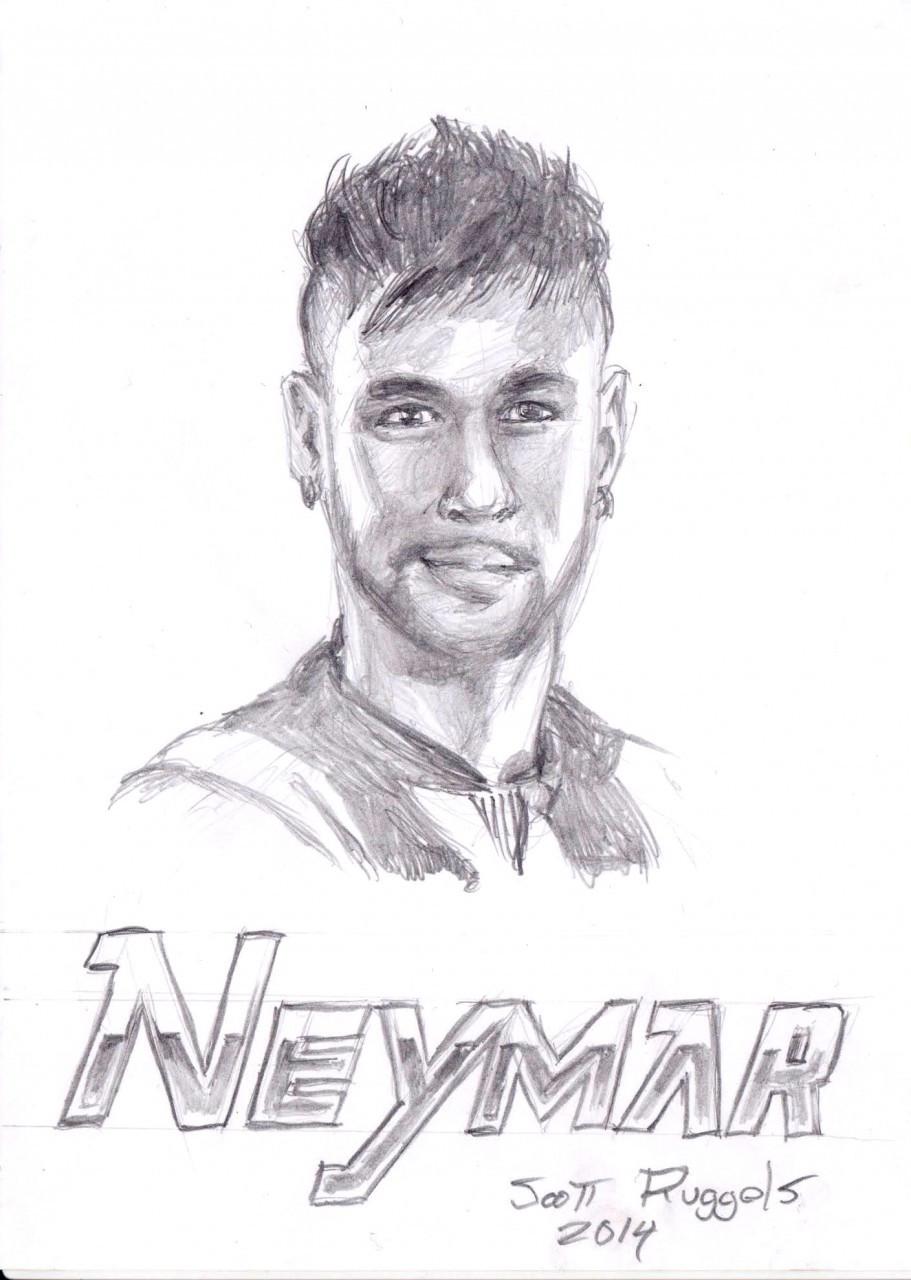 Neymar Ausmalbilder  Neymar da Silva Santos Júnior — Weasyl