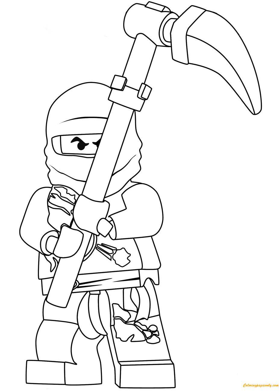 die besten ideen für ninjago ausmalbilder cole - beste