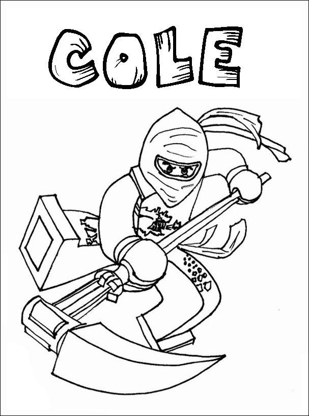 Ninjago Cole Ausmalbilder  Ausmalbilder Ninjago 14