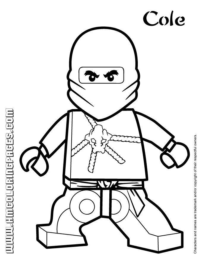 Ninjago Cole Ausmalbilder  ausmalbilder ninjago cole zx ausmalbilder