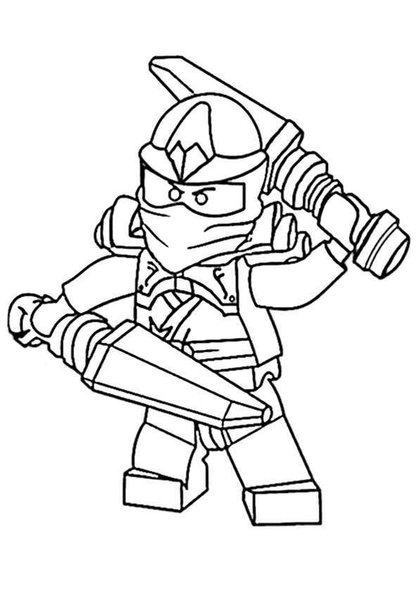 Ninjago Jay Ausmalbilder  Ausmalbilder kostenlos Ninjago 19
