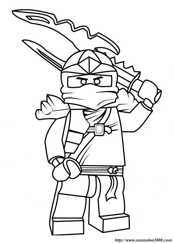 Ninjago Jay Ausmalbilder  Ausmalbilder Ninjago bild Bereit fur ultimative Schlacht