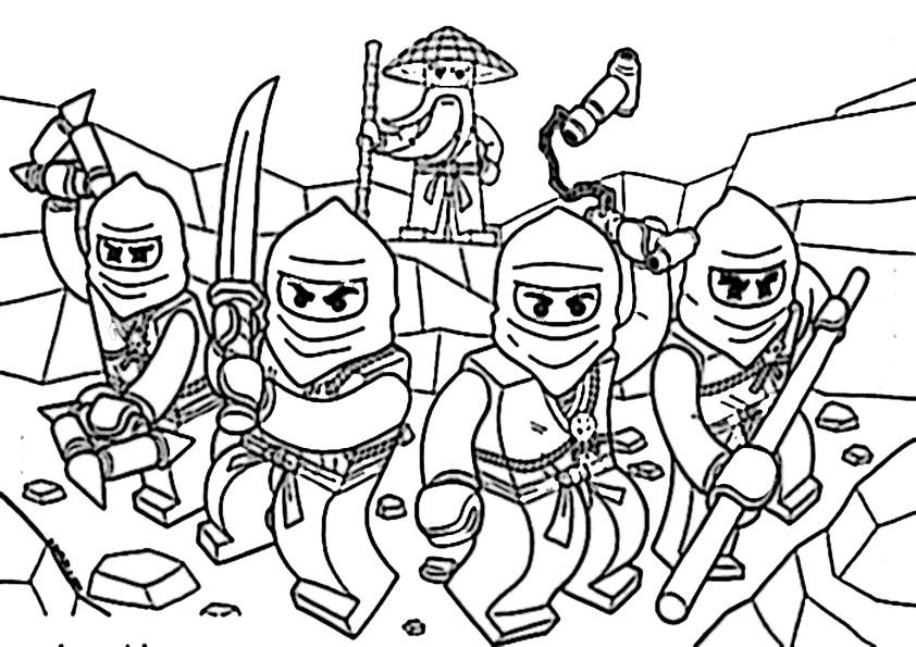 Die Besten Ninjago Malvorlagen Beste Wohnkultur Bastelideen