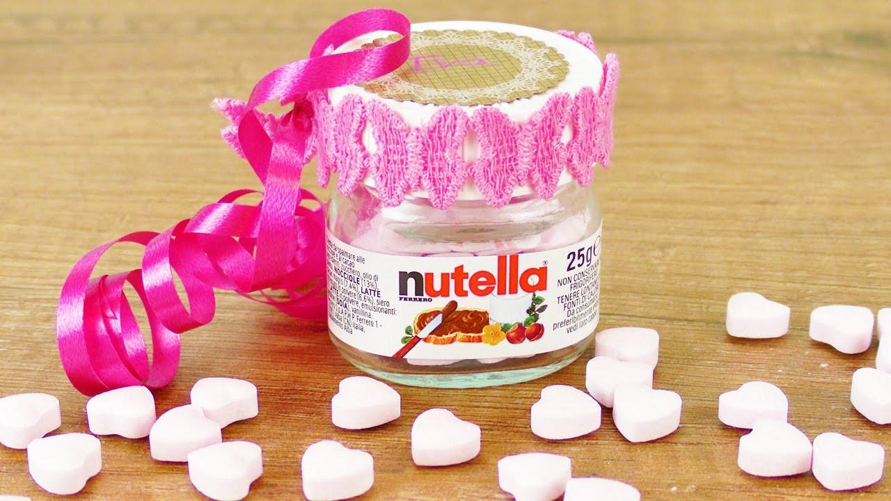 Nutella Glas Diy  Aus alt mach neu NUTELLA GLAS als GESCHENKVERPACKUNG für