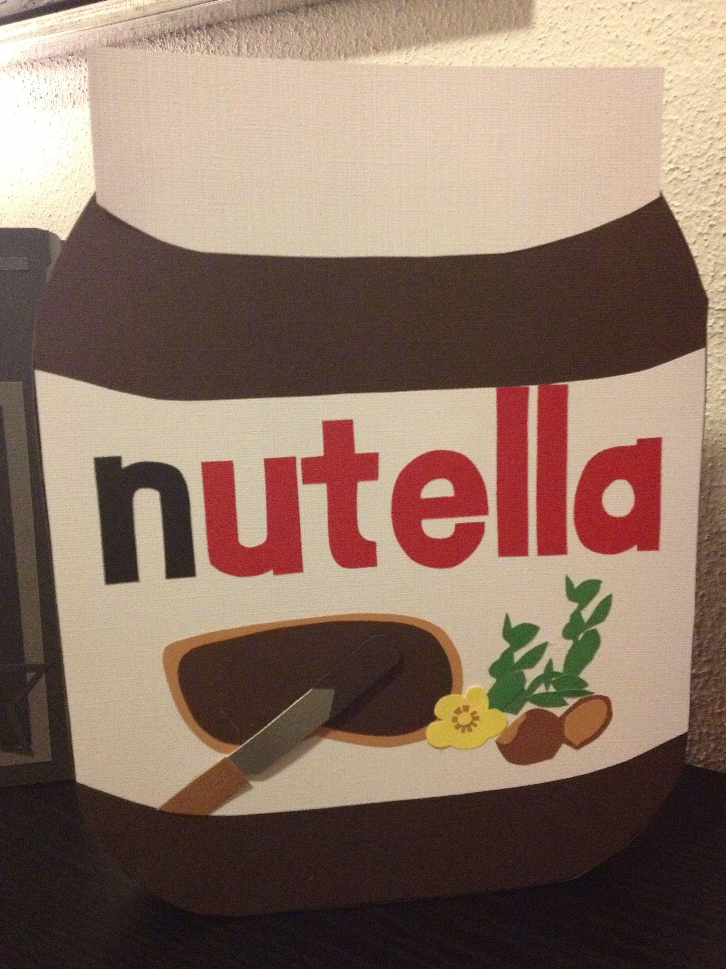 Nutella Glas Diy  Nutella glas som sangskjuler