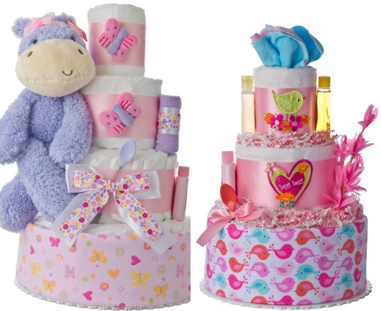 Nützliche Geschenke Zur Geburt  Windeltorte basteln Anleitung fürs Geschenk zur Geburt