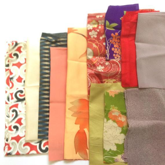Obi Diy  Kimono obi fabric Japanese pattern fabric by SmithjackJapan