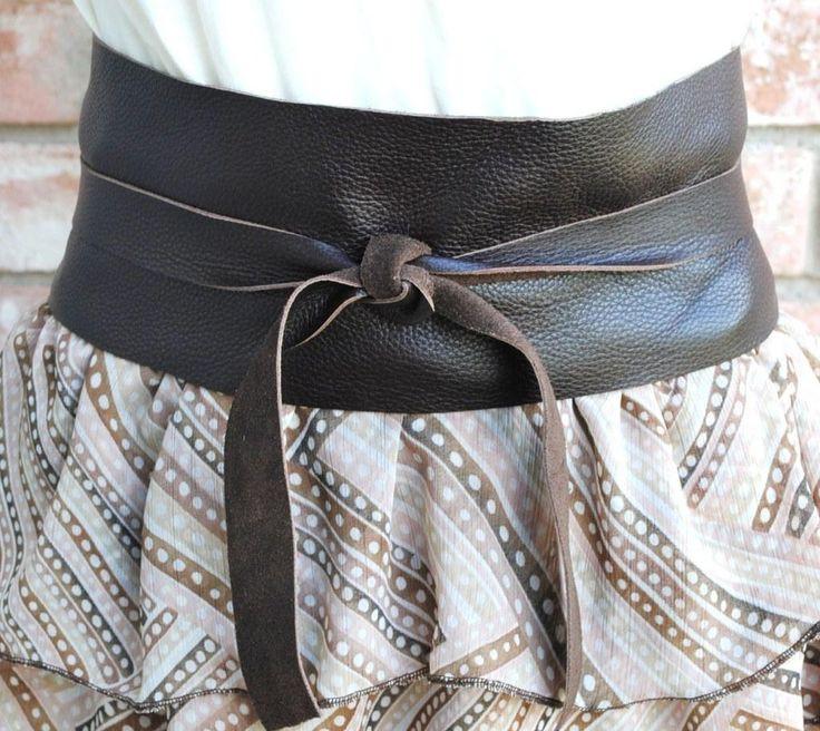 Obi Diy  DIY Leather Japanese Obi Belt accessories