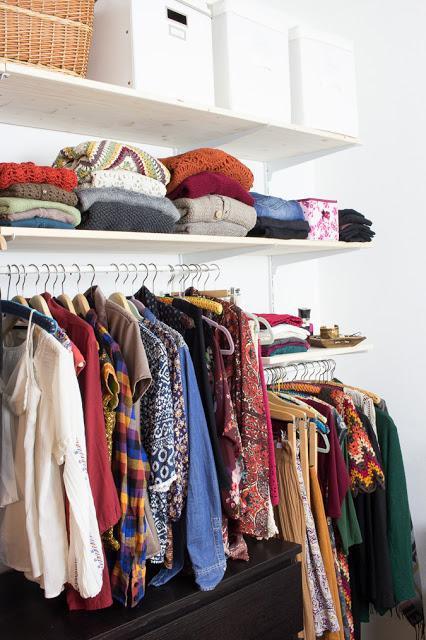 Offener Kleiderschrank Diy  DIY