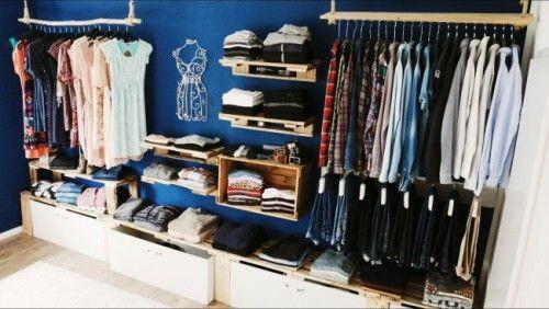 Offener Kleiderschrank Diy  Begehbarer Kleiderschrank oder Regalsystem