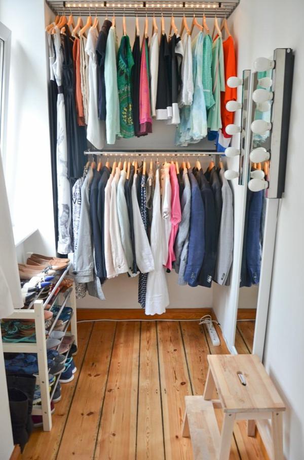 Offener Kleiderschrank Diy  Wie können Sie einen begehbaren Kleiderschrank selber bauen