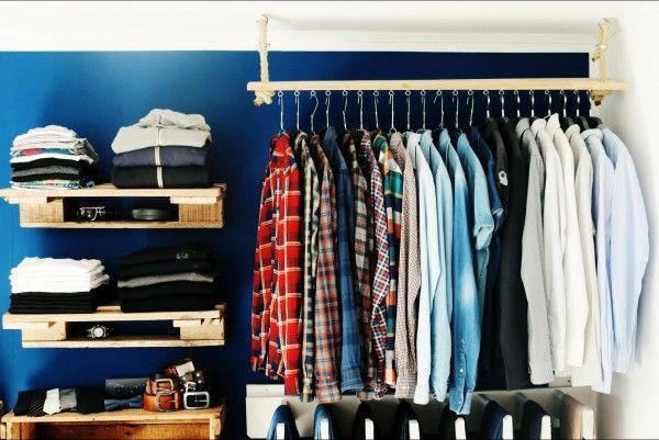 Offener Kleiderschrank Diy  Die besten 25 Begehbarer kleiderschrank selber bauen