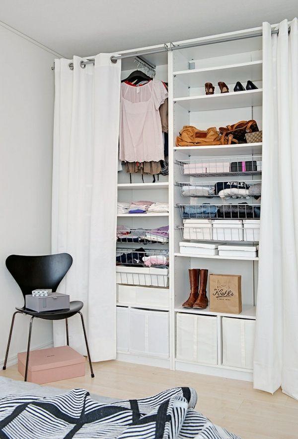 Offener Kleiderschrank Diy  Ordnung im Kleiderschrank 7 Tipps für den kleinen