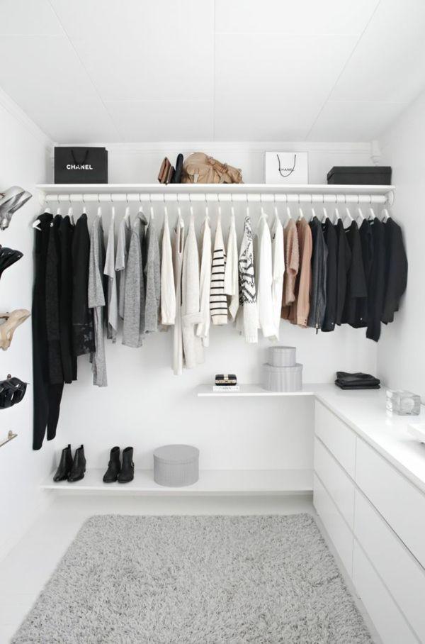 Offener Kleiderschrank Diy  Die 25 besten Ideen zu Kleiderschrank auf Pinterest
