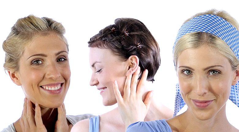 Oktoberfest Frisuren Für Kurze Haare  Wiesn Frisuren Hochsteckfrisuren für kurze Haare