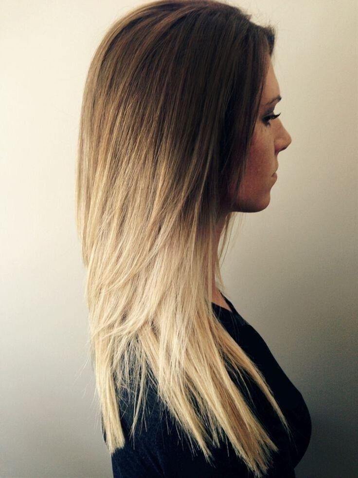 Ombre Frisuren  27 Nette gerade Frisuren New Season Hair Styles Haar