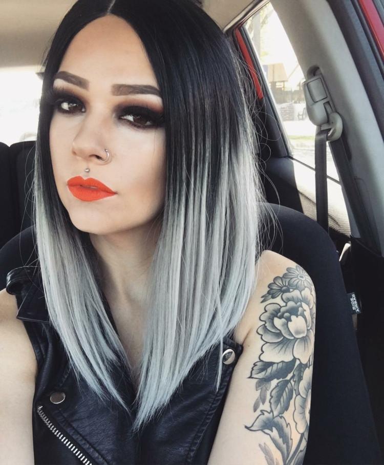 Ombre Frisuren  Damen Haarfarben Trends 2017 Was ist im kommenden Jahr