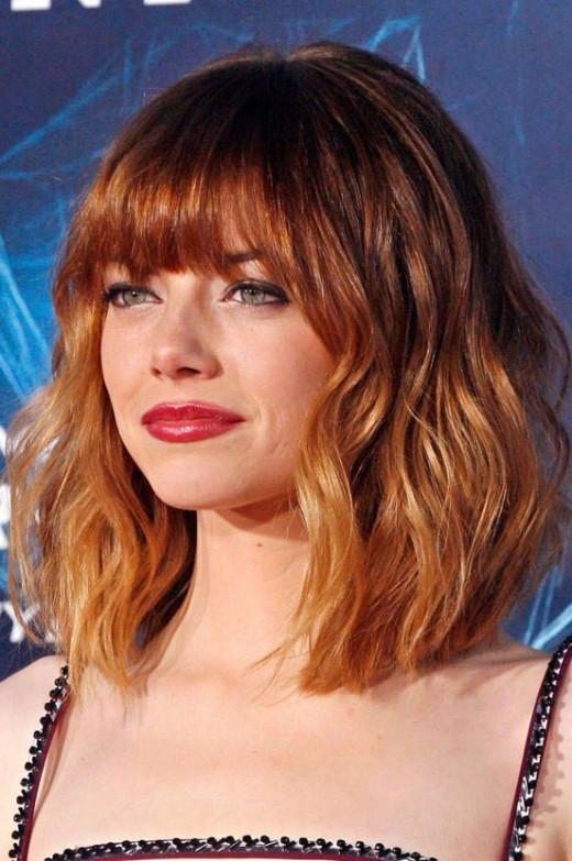 Ombre Frisuren  Ombre Frisuren für kurze Haare Trend Frisuren Stil