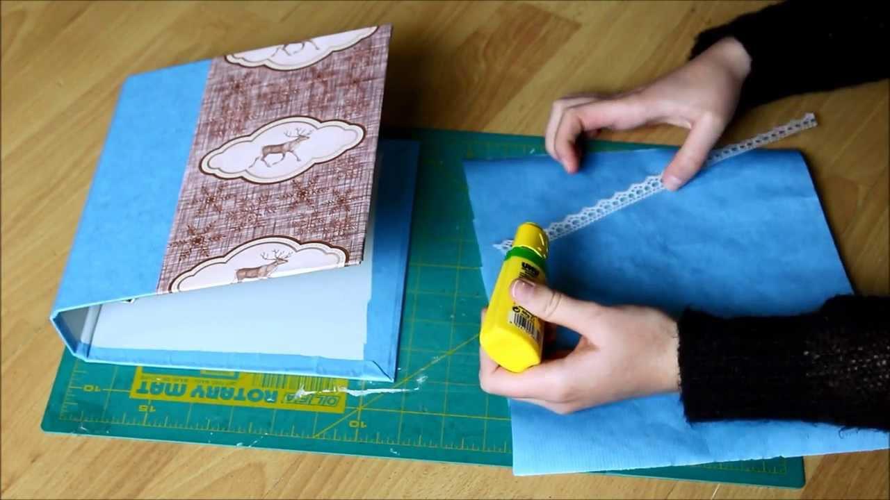 Ordner Diy  DIY individuelle Ordner gestalten