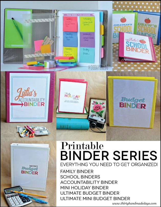 Ordner Diy  DIY Organisations Ordner College