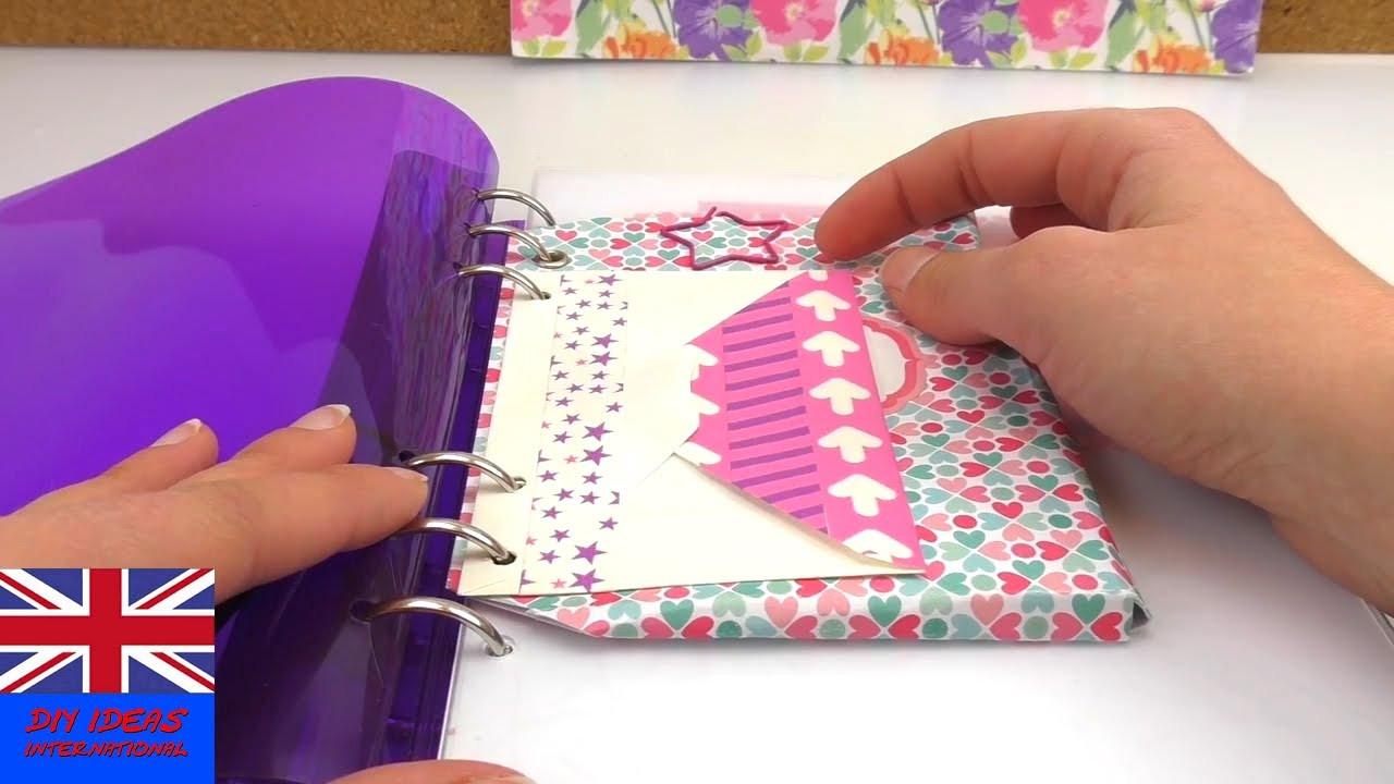 Ordner Diy  DIY Quick Folder Tips