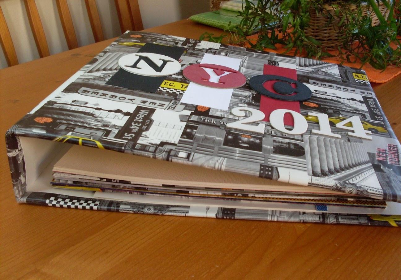 Ordner Diy  Papierpotpourri DIY Album Ordner oder Mappe selber machen