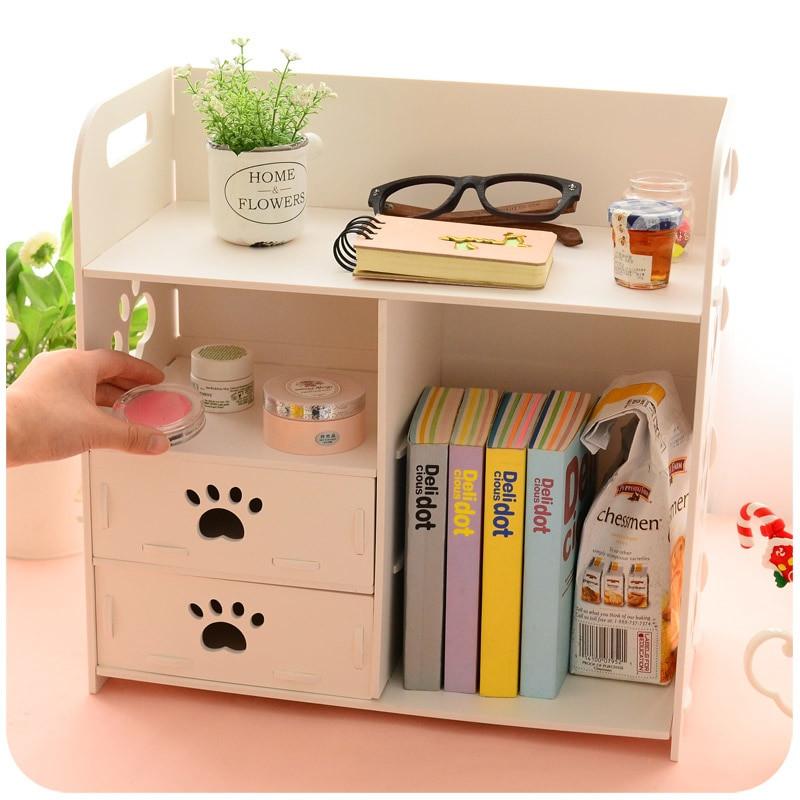 Organizer Diy  Aliexpress Buy DIY Modern White Wooden Storage Box