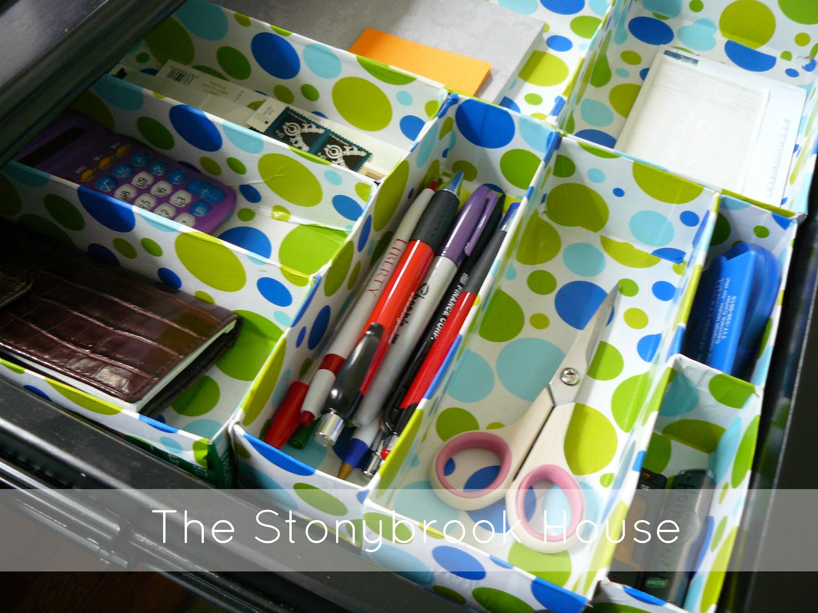 Organizer Diy  DIY Cereal Box Drawer Organizer The Stonybrook House