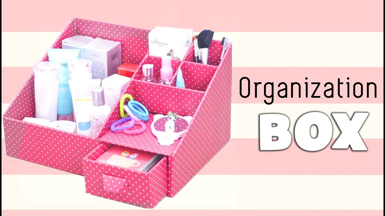 Organizer Diy  DIY Makeup Storage and Organization