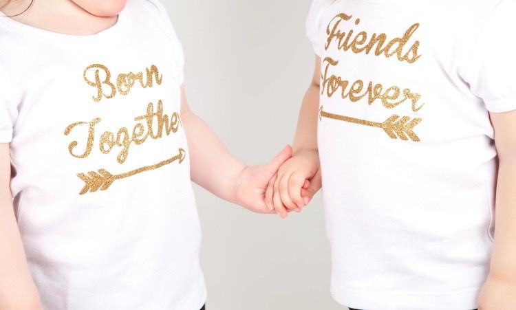 Originelle Geschenke Zur Geburt  Originelle Geschenke für Zwillinge zur Geburt selber machen