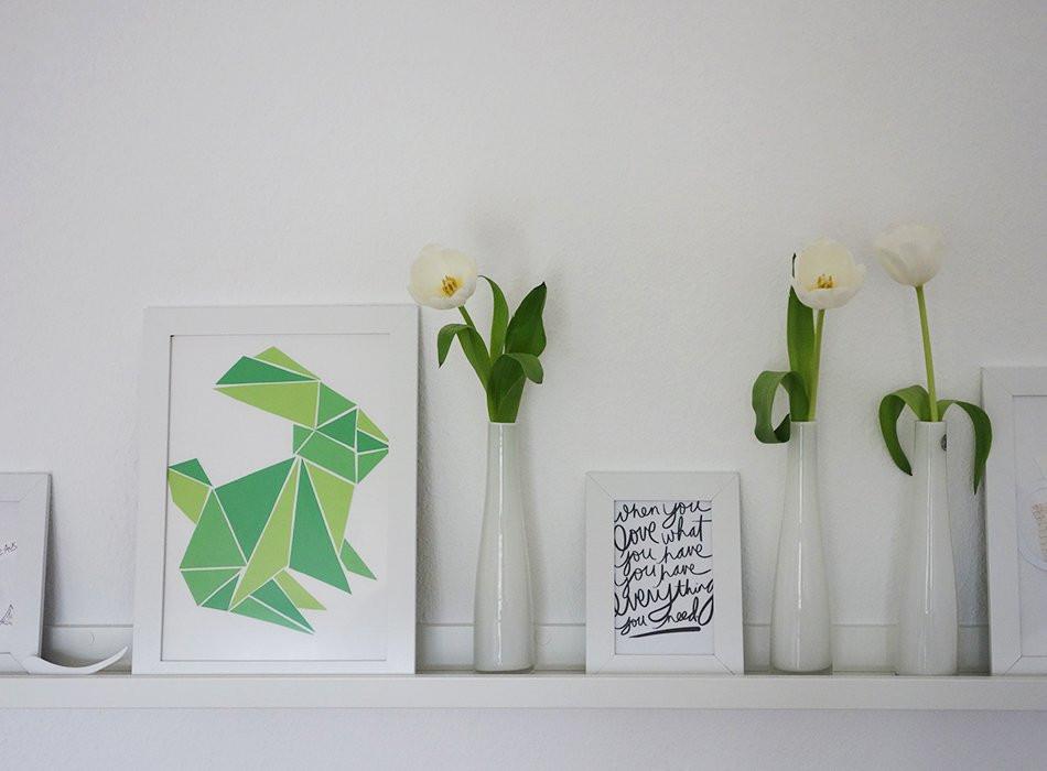 Oster Diy  Lastminute Oster DIY Origami Hase Ekulele