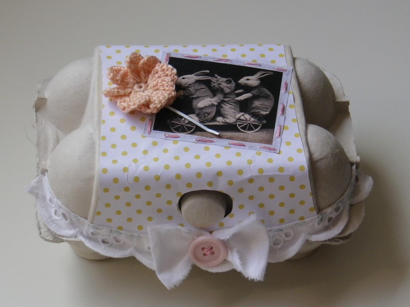 Oster Geschenkideen  Katinkas Blog Oster Geschenk Box DIY