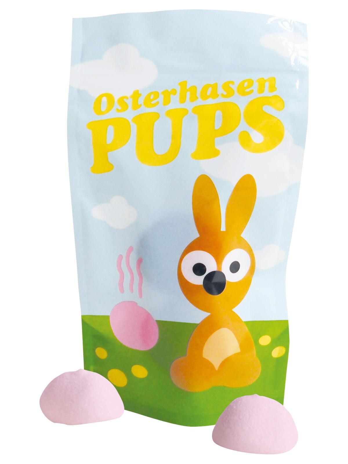 Oster Geschenkideen  Osterhasen Pups Marshmallows Oster Geschenk bunt 20g osterhase