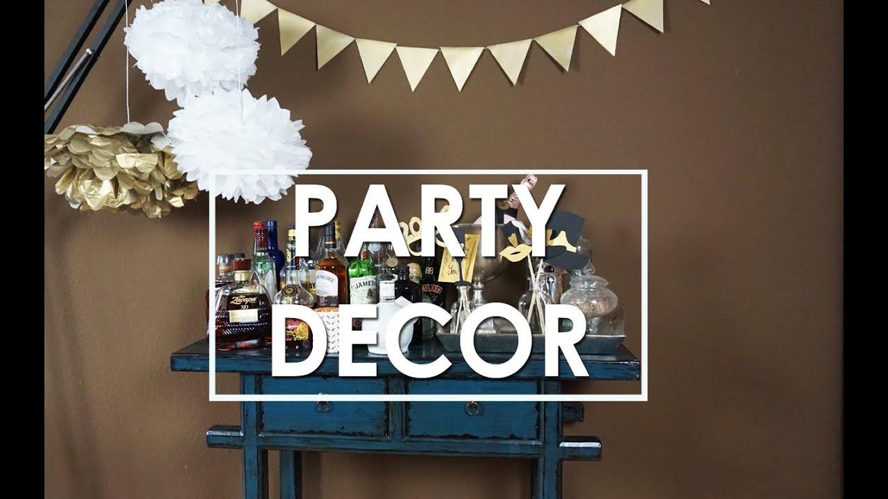 Party Deko Diy Einfache DIY Party Deko Ideen Pompoms selber basteln