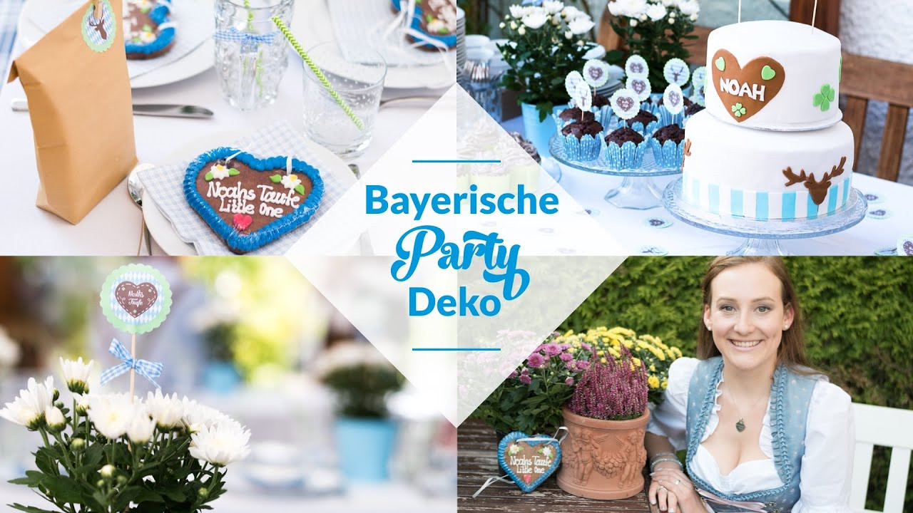 Party Deko Diy BAYERISCHE PARTY DEKO DIY